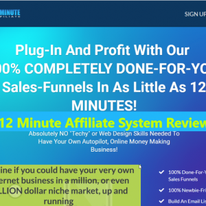 12 minute affiliate system buy or not scam